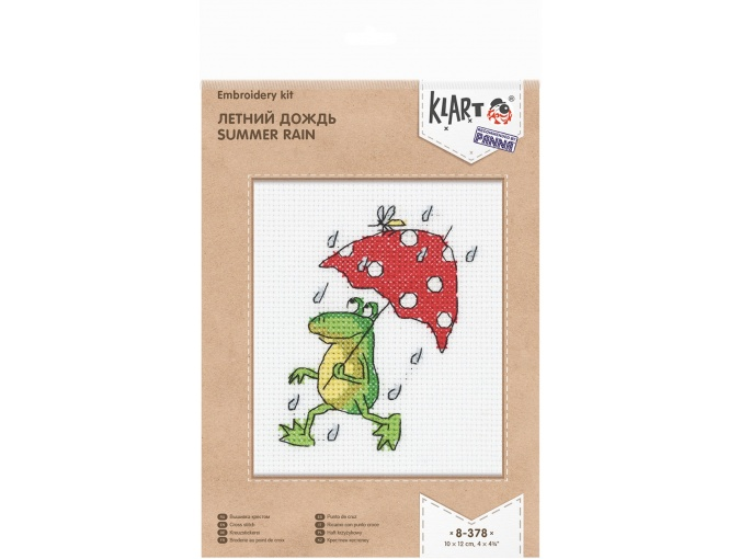 Summer Rain Cross Stitch Kit фото 2