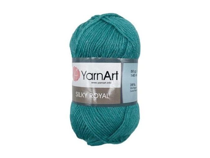 YarnArt Silky Royal 35% Silk Rayon, 65% Merino Wool, 5 Skein Value Pack, 250g фото 20