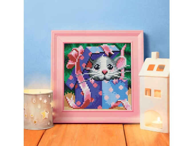 Fluffy Gift Diamond Painting Kit фото 2
