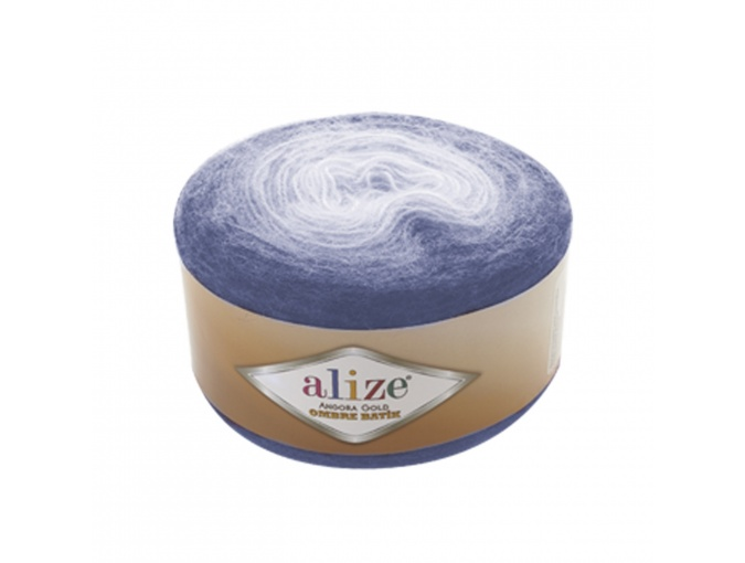 Alize Angora Gold Ombre Batik, 20% Wool, 80% Acrylic 4 Skein Value Pack, 600g фото 1