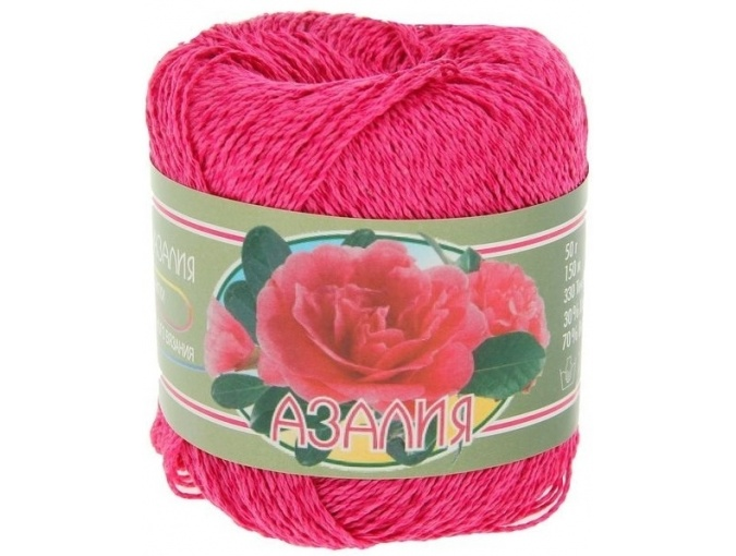 Kirova Fibers Azalea, 30% cotton, 70% viscose 4 Skein Value Pack, 200g фото 10