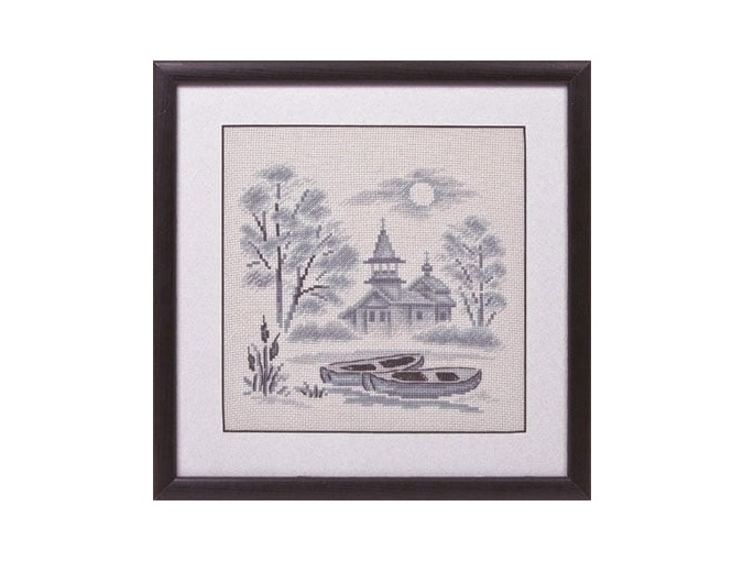 A Mist over the River Cross Stitch Kit фото 2