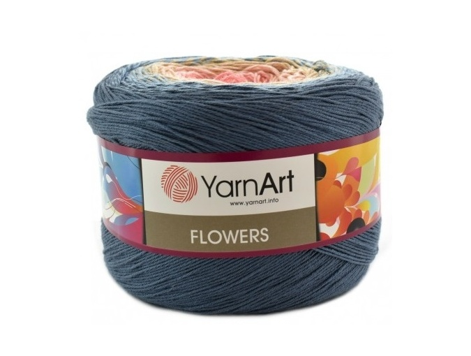 YarnArt Flowers, 55% Cotton, 45% Acrylic, 2 Skein Value Pack, 500g фото 27