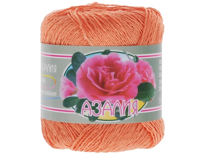 Kirova Fibers Azalea, 30% cotton, 70% viscose 4 Skein Value Pack, 200g фото 5