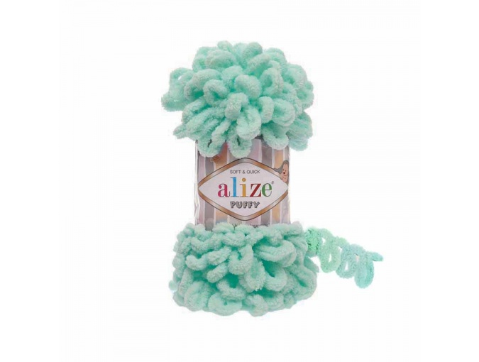 Alize Puffy, 100% Micropolyester 5 Skein Value Pack, 500g фото 6