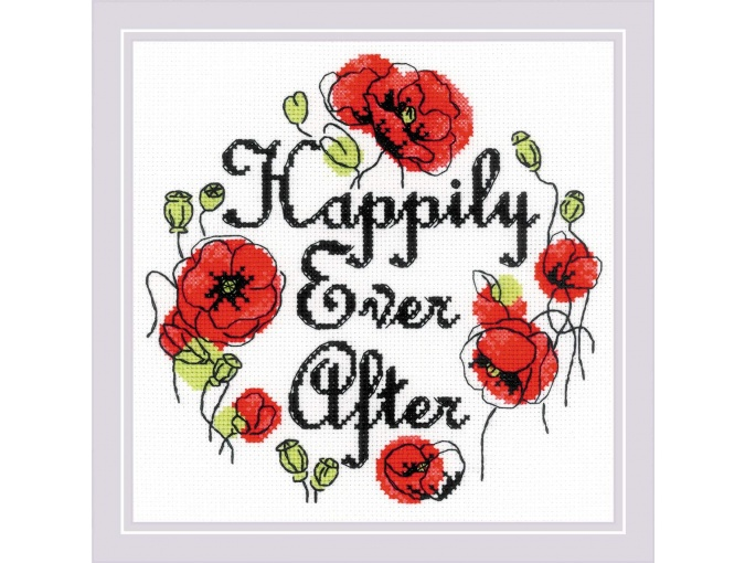 Happily Ever After Cross Stitch Kit фото 1