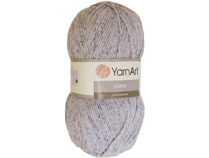 YarnArt Legend 25% Wool, 65% Acrylic, 10% Viscose, 5 Skein Value Pack, 500g фото 4