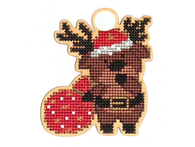 Christmas Toys. Fawn Cross Stitch Kit фото 1