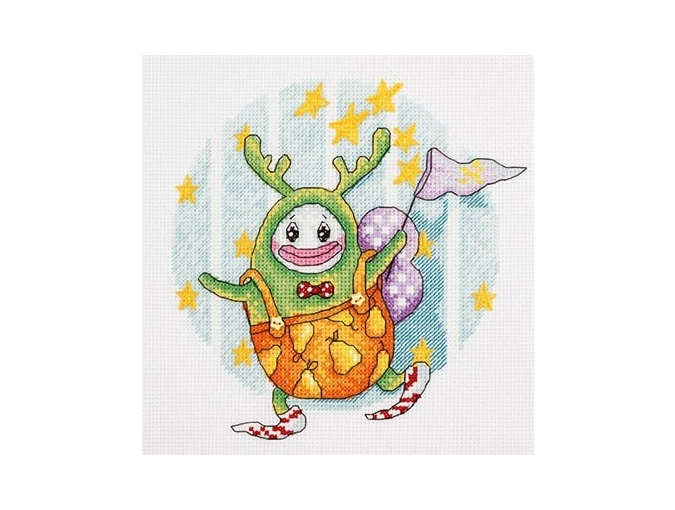 Monster of Dreams Cross Stitch Kit фото 1