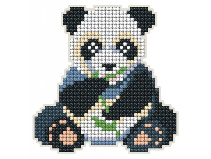 Panda Magnet Diamond Painting Kit фото 1