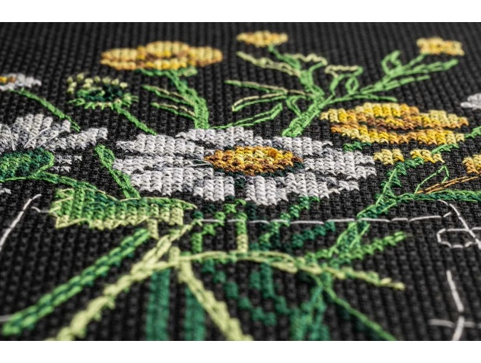 Chamomile Tea Cross Stitch Kit фото 7