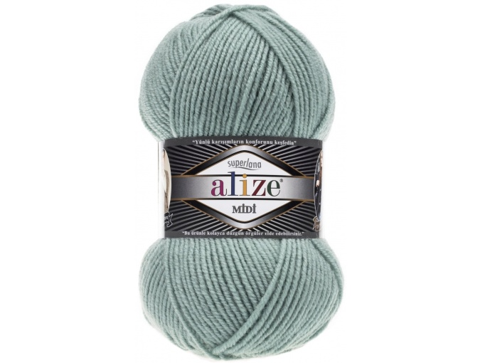 Alize Superlana Midi 25% Wool, 75% Acrylic, 5 Skein Value Pack, 500g фото 30