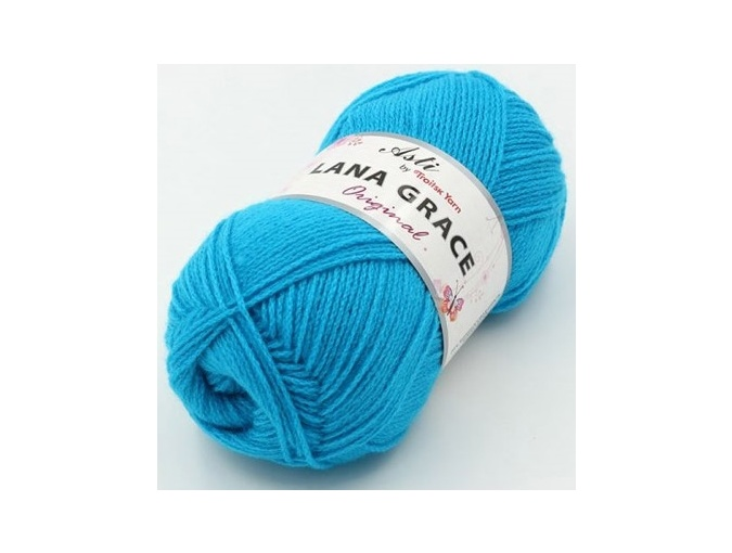 Troitsk Wool Lana Grace Original, 25% Merino wool, 75% Super soft acrylic 5 Skein Value Pack, 500g фото 6