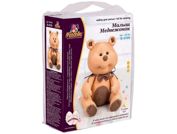 Baby Bear Toy Sewing Kit фото 3