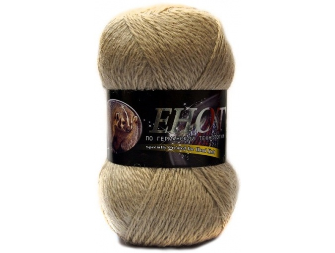 Color City Raccoon 60% Lambswool, 20% Raccoon Wool, 20% Acrylic, 10 Skein Value Pack, 1000g фото 9