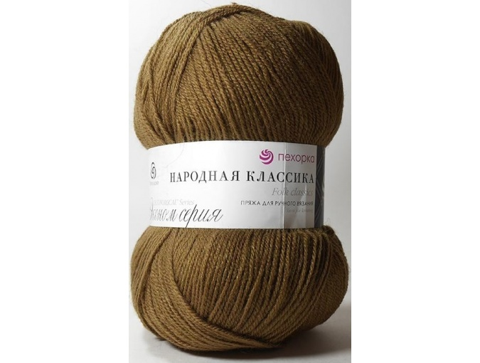 Pekhorka Folk Classics, 30% Wool, 70% Acrylic 5 Skein Value Pack, 500g фото 11