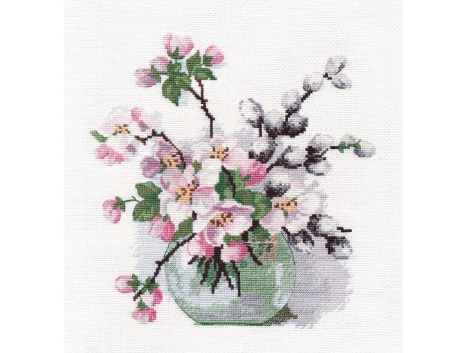 The Fragrance of Spring Cross Stitch Kit  фото 1