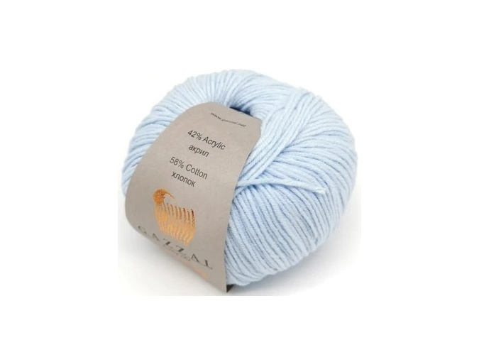 Gazzal Jeans, 58% Cotton, 42% Acrylic 10 Skein Value Pack, 500g фото 10