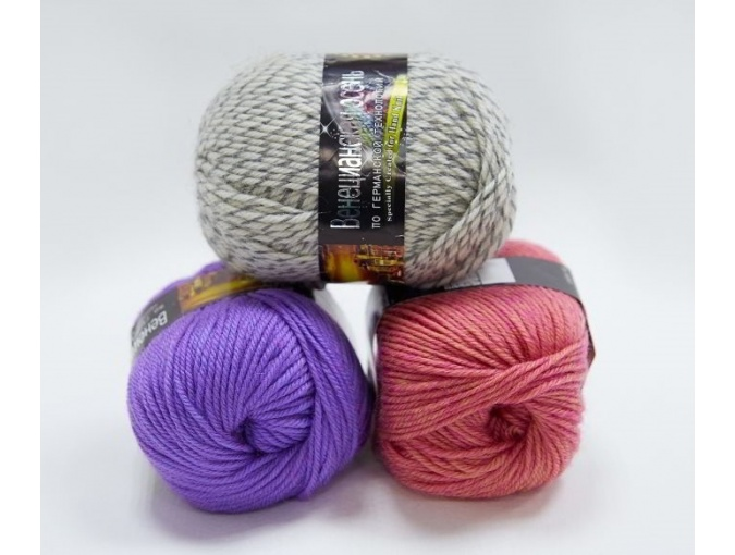 Color City Venetian Autumn 85% Merino Wool, 15% Acrylic, 5 Skein Value Pack, 500g фото 1