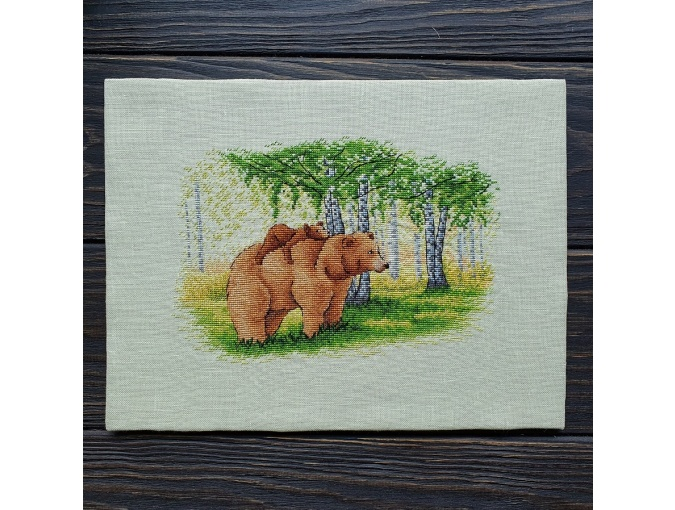 Bear Family Cross Stitch Pattern фото 3