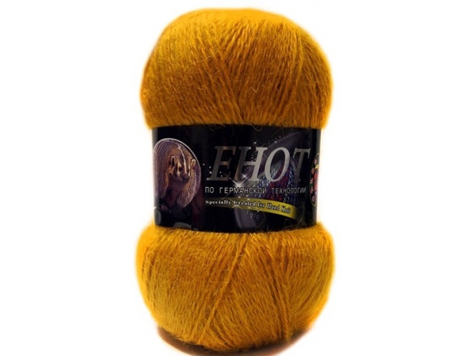 Color City Raccoon 60% Lambswool, 20% Raccoon Wool, 20% Acrylic, 10 Skein Value Pack, 1000g фото 13