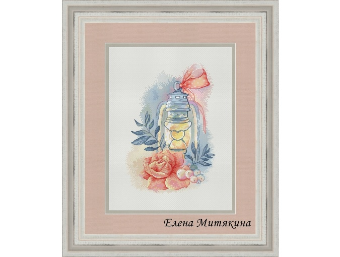 Gentle Evening Cross Stitch Pattern фото 1