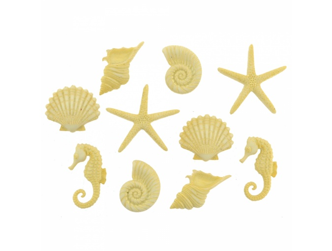 Beach Beauties Set of Decorative Buttons фото 1