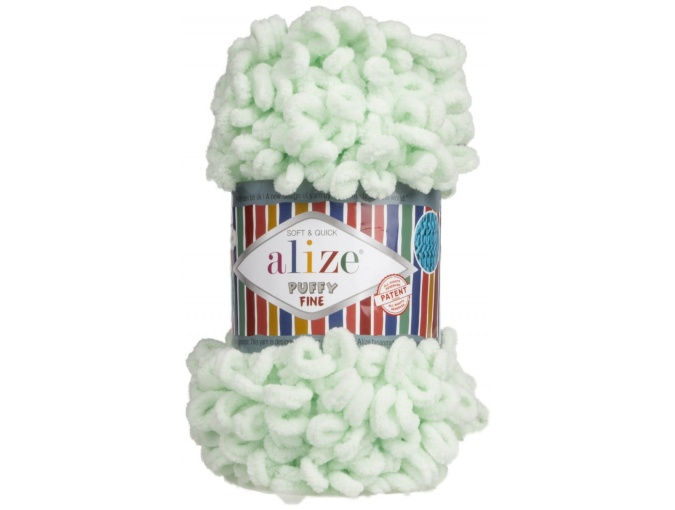 Alize Puffy Fine, 100% Micropolyester 5 Skein Value Pack, 500g фото 28
