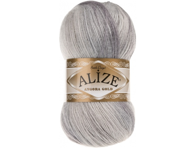 Alize Angora Gold Batik, 10% mohair, 10% wool, 80% acrylic 5 Skein Value Pack, 500g фото 63