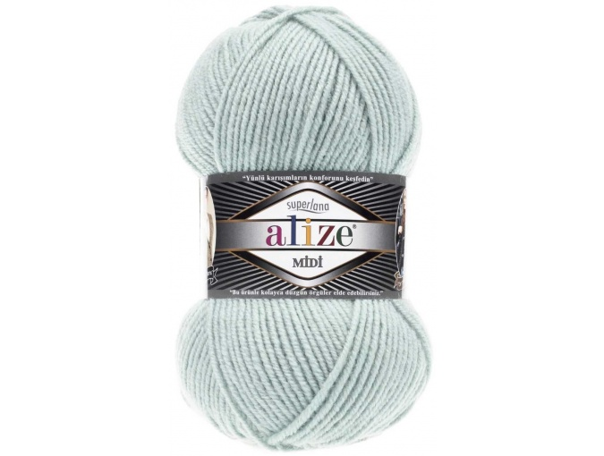 Alize Superlana Midi 25% Wool, 75% Acrylic, 5 Skein Value Pack, 500g фото 36