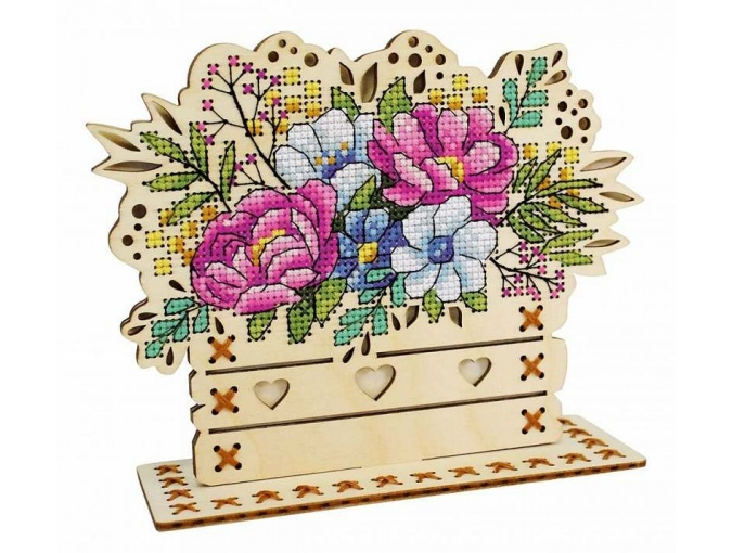 Flower Composition Embroidery Kit фото 1