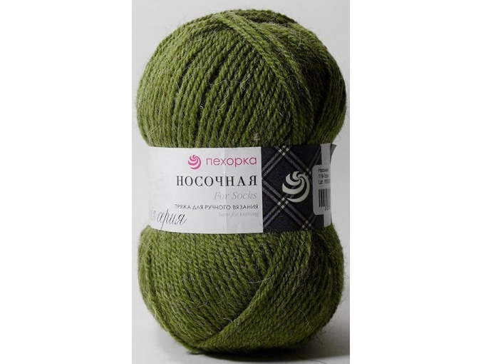 Pekhorka For Socks, 50% Wool, 50% Acrylic 10 Skein Value Pack, 1000g фото 18