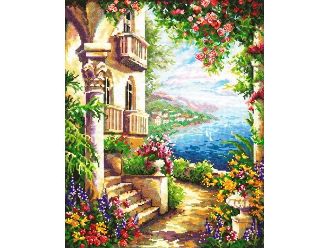 At the Black Sea Cross Stitch Kit фото 1