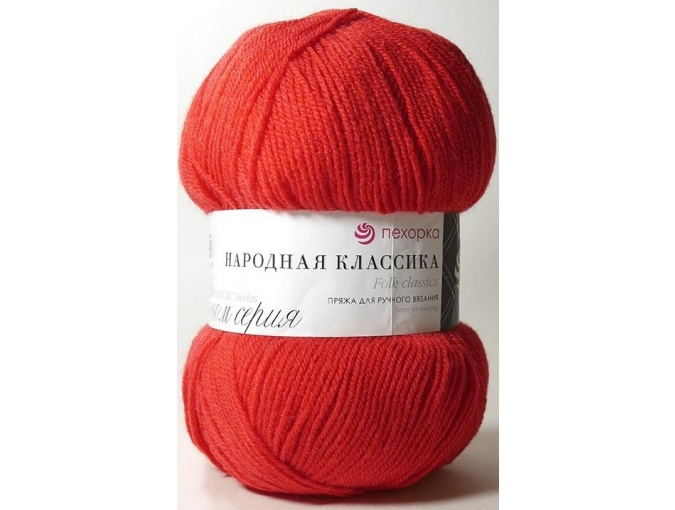 Pekhorka Folk Classics, 30% Wool, 70% Acrylic 5 Skein Value Pack, 500g фото 5