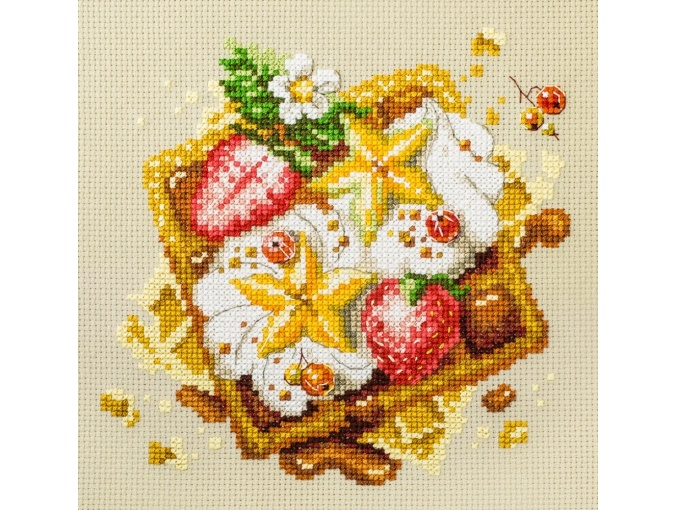 Viennese Waffles Cross Stitch Kit фото 1