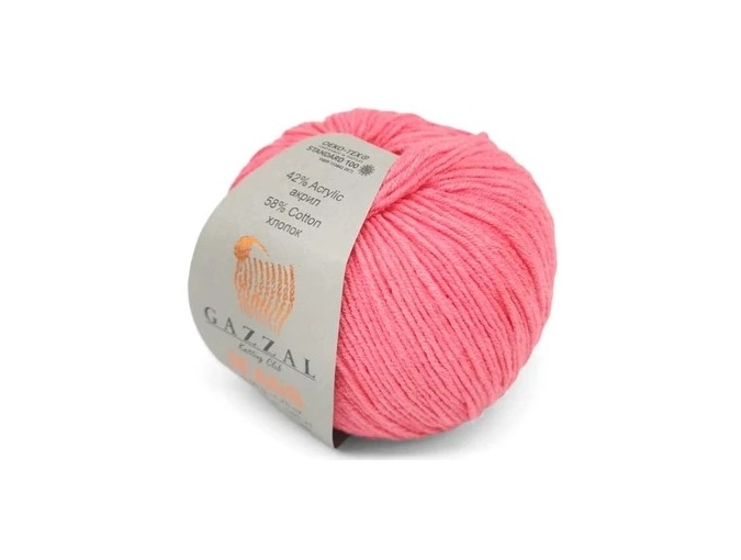 Gazzal Jeans, 58% Cotton, 42% Acrylic 10 Skein Value Pack, 500g фото 37