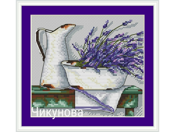 Country Ware Cross Stitch Pattern фото 1