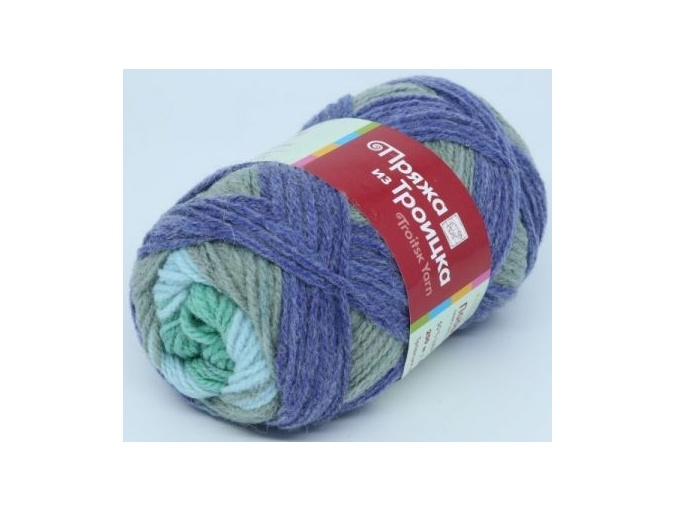 Troitsk Wool Countryside Print, 50% wool, 50% acrylic 10 Skein Value Pack, 1000g фото 68
