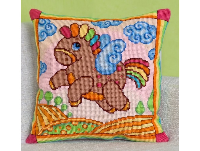 Pegasus Cushion Front Cross Stitch Kit фото 1