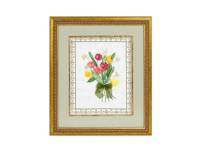 Tulips Embroidery Kit фото 2