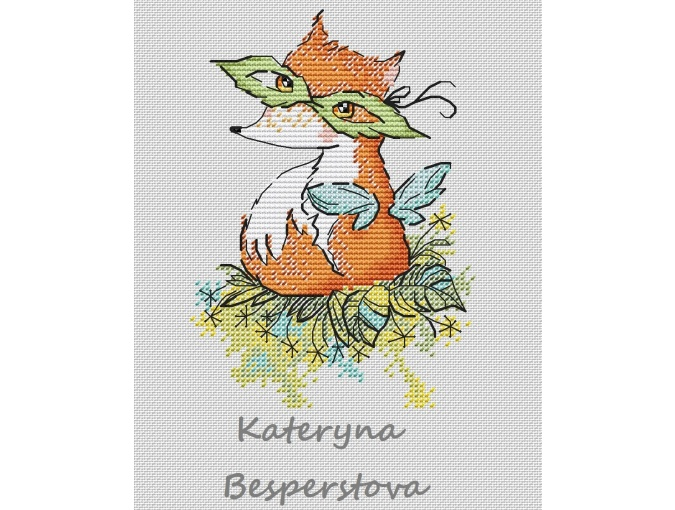 Forest Fairy Cross Stitch Pattern фото 1