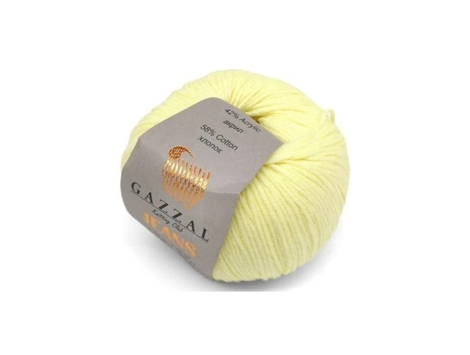 Gazzal Jeans, 58% Cotton, 42% Acrylic 10 Skein Value Pack, 500g фото 3