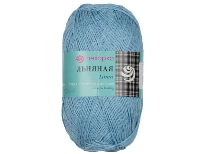 Pekhorka Linen, 55% Linen, 45% Cotton, 5 Skein Value Pack, 500g фото 4