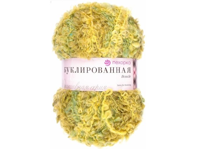 Pekhorka Boucle, 30% Mohair, 20% Wool, 50% Acrylic, 5 Skein Value Pack, 1000g фото 27