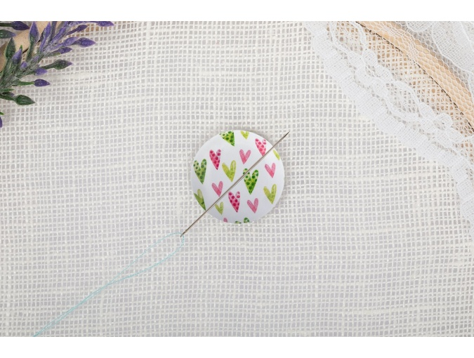 Magnetic Needle Minder №30 Hearts фото 3