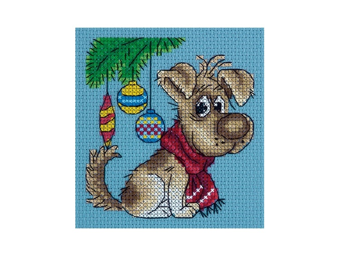 Waiting for a Present Cross Stitch Kit фото 1