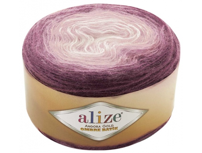 Alize Angora Gold Ombre Batik, 20% Wool, 80% Acrylic 4 Skein Value Pack, 600g фото 4