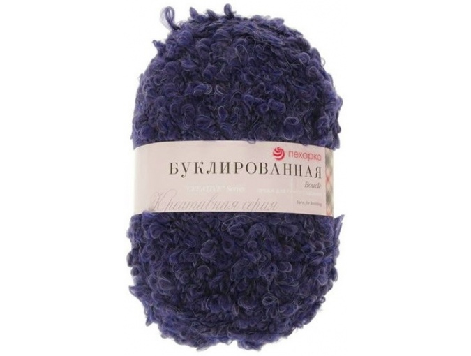 Pekhorka Boucle, 30% Mohair, 20% Wool, 50% Acrylic, 5 Skein Value Pack, 1000g фото 5