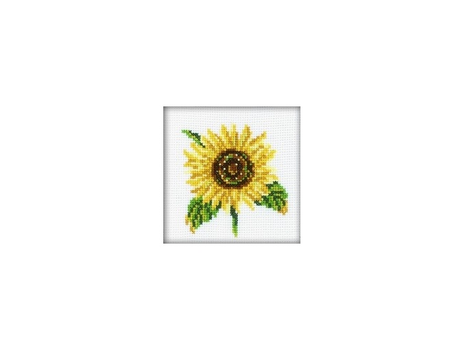 A Sunflower Cross Stitch Kit фото 1
