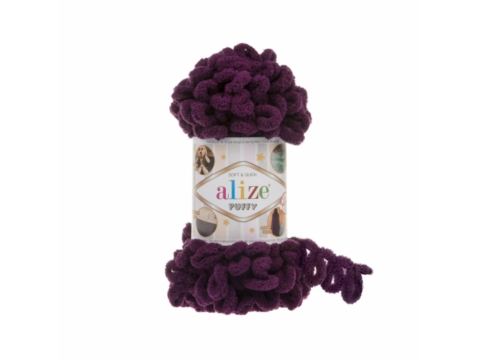 Alize Puffy, 100% Micropolyester 5 Skein Value Pack, 500g фото 22